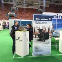 ГРУНДФОС принял участие в FOOTBALL BUILD EXPO 2014